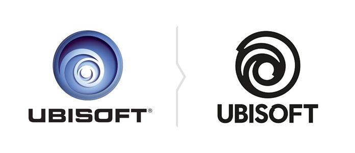 Rebranding Ubisoft - nowe logo
