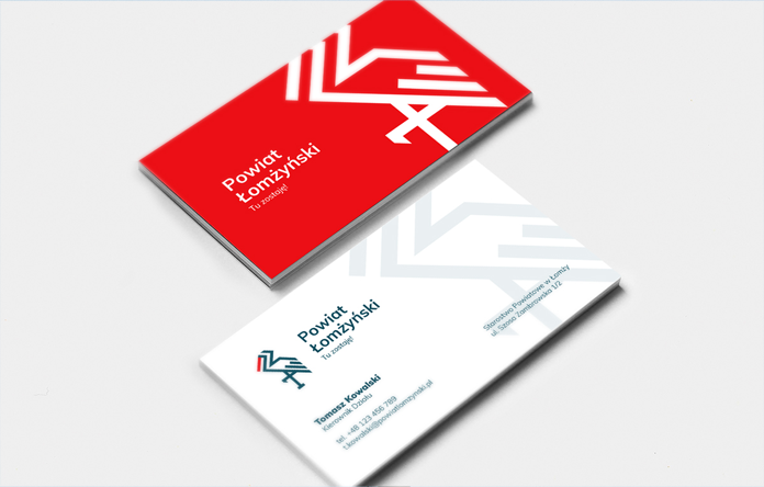 Powiat łomżyński - nowa identyfikacja wizualna