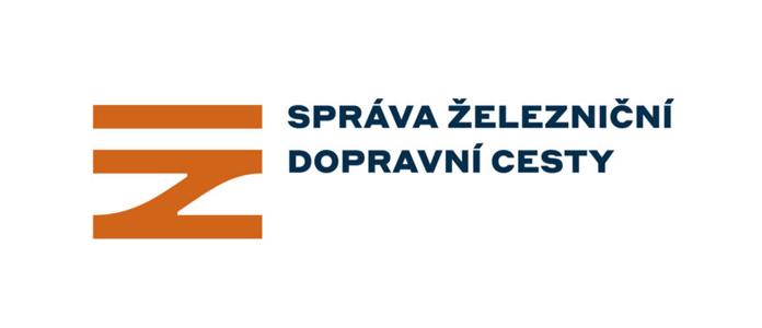 Nowe logo Správa železniční dopravní cesty - wersja pozioma