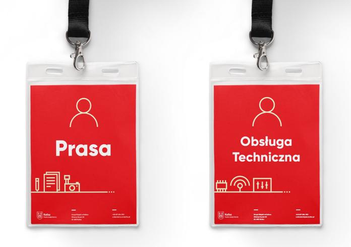 Identyfikatory - Kalisz nowe logo