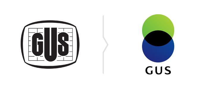 GUS zmienia logo - nowy znak GUS