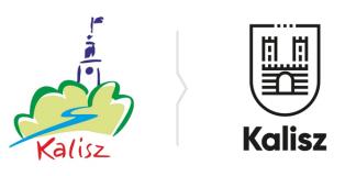 Stare i nowe logo Kalisza