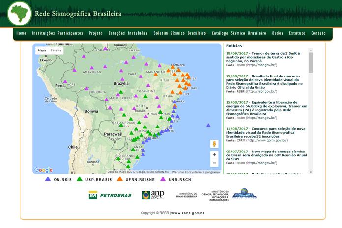 Dotychczasowa strona brazylijskiej RSBR