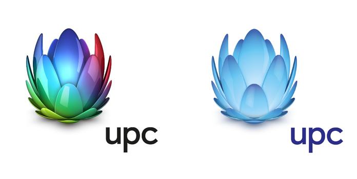 Logo UPC - różne wersje