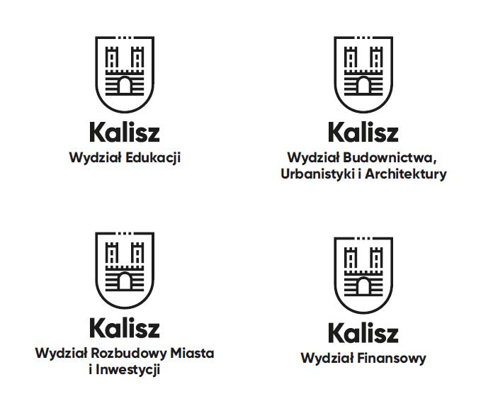 Warianty nowego logo Kalisza