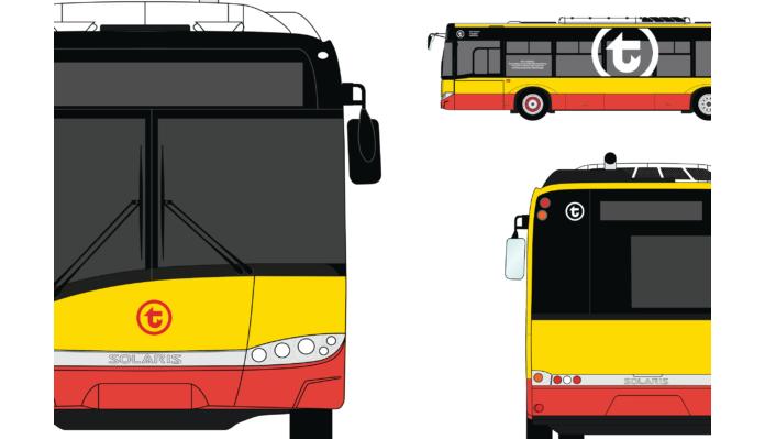 Autobus z logo WTP
