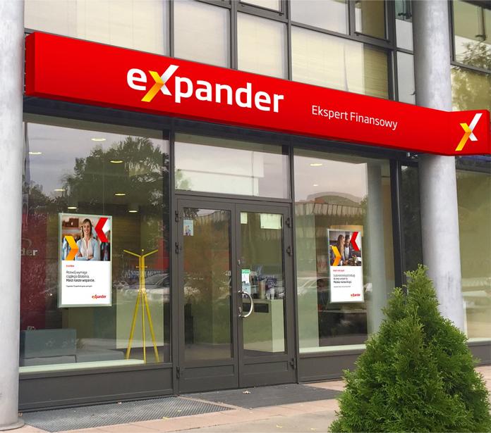 Placówka Expander w nowym obrandowaniu