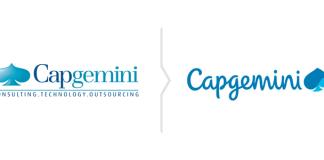 Rebranding Capgemini - nowe logo