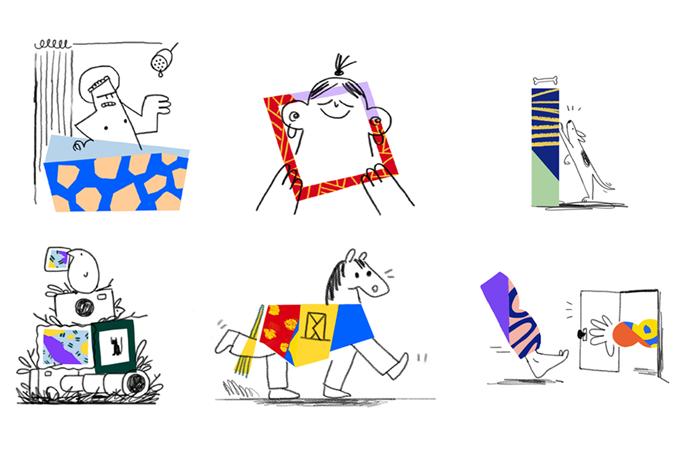 Nowe ilustracje dla Dropboxa