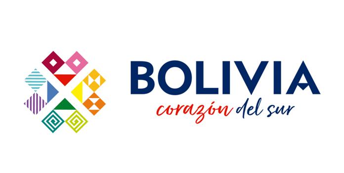 Boliwia - nowe logo w wersji horyzontalnej