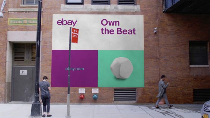 Reklama promująca markę Ebay