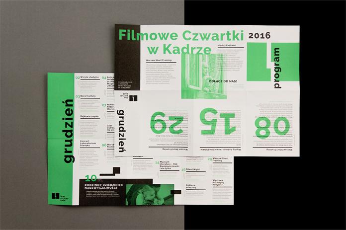Materiały drukowane - rebranding Kadru