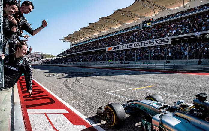 Formuła 1 - nowe logo na torze w Abu Dhabi