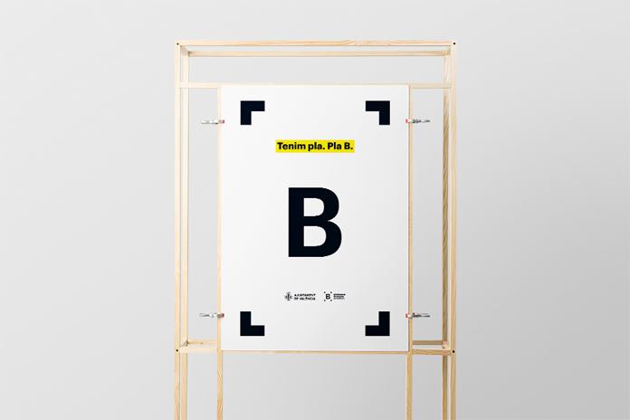 Projekt plakatu Bibliotek Miejskich Walencji