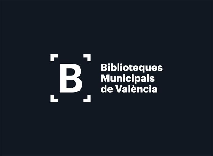 Nowe logo bibliotek miejskich Walencji - wersja alternatywna