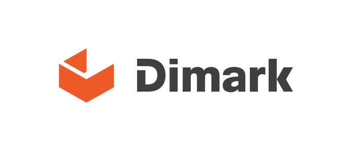 Nowe logo marki Dimark po rebrandingu