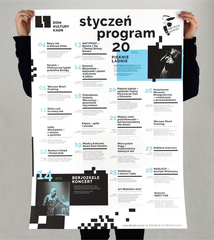 Prezentacja plakatu - nowa szata graficzna