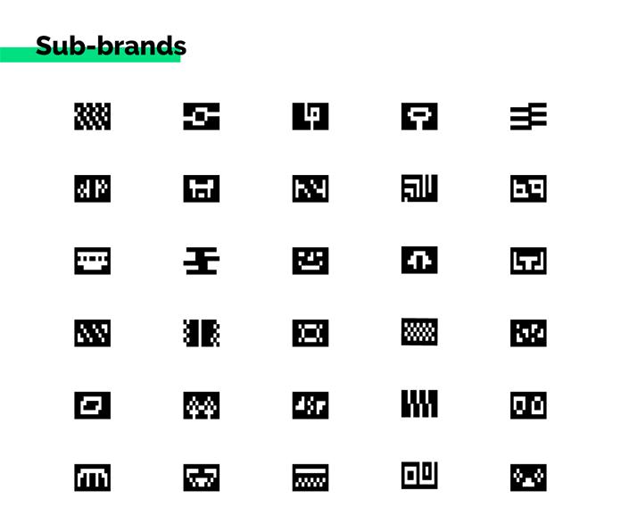 Piktogramy nowej identyfikacji wizualnej
