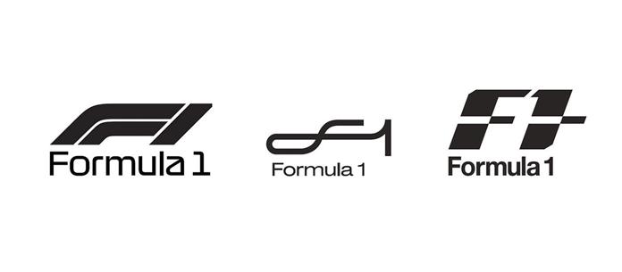 Zarejestrowane wzory nowego logo F1
