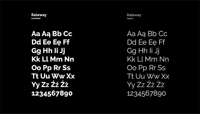 Typografia DK Kadr - rebranding