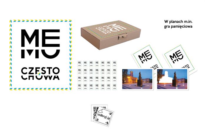 Gra memory z logo Częstochowy