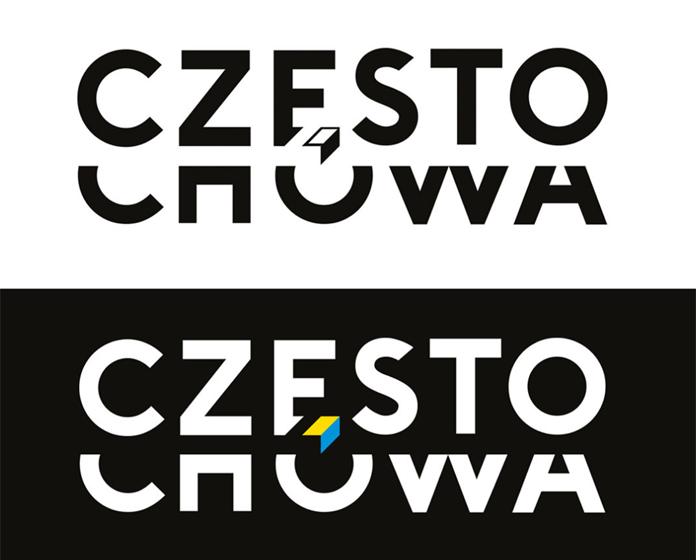 Wersje alternatywne logo Częstochowy