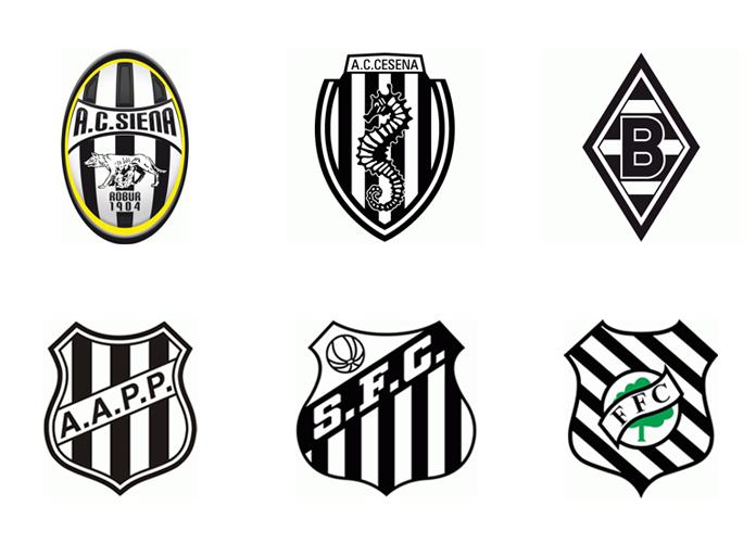 Przykłady znaków z motywem czarno-białych pasów