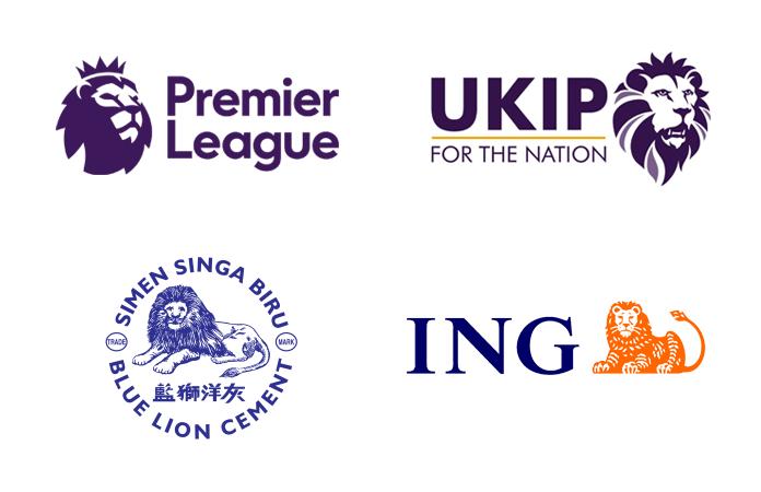 Przykładowe logo z motywem lwa
