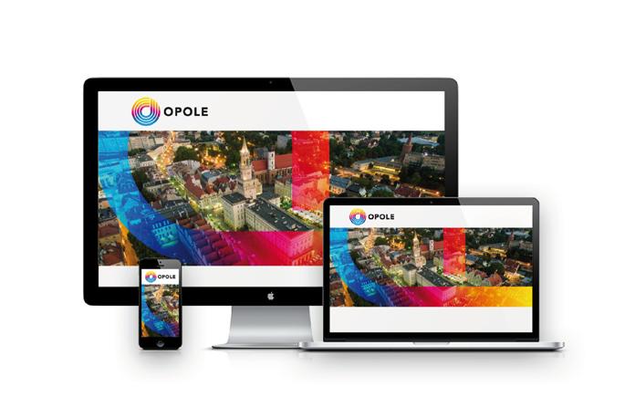 Identyfikacja wizualna Opola - ekrany