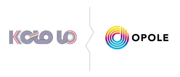 Porównanie logo Opola i organizacji Koło UO