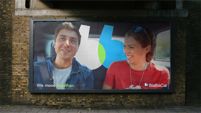 Rebranding BlaBlaCar - plakat