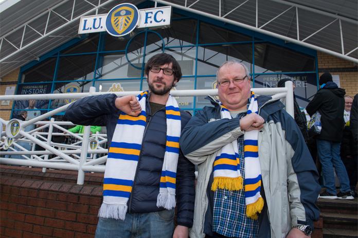 Kibice Leeds United