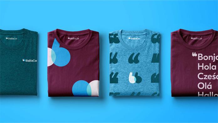 Koszulka BlaBlaCar - nowe logo