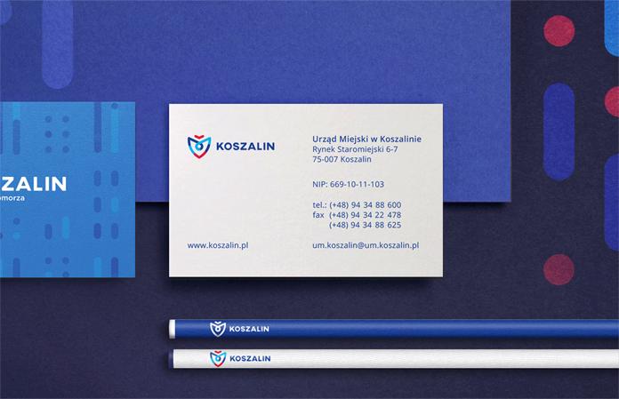 Identyfikacja wizualna Koszalina - nowe logo