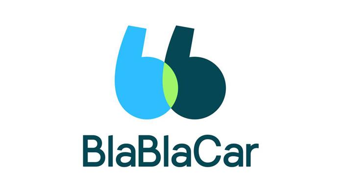 Logo BlaBlaCar 2018 w wersji pionowej