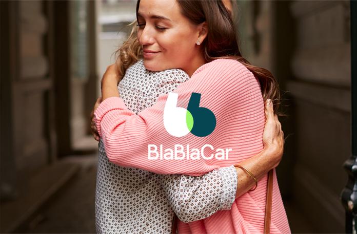 Wizualizacja alternatywnej wersji logo BlaBlaCar