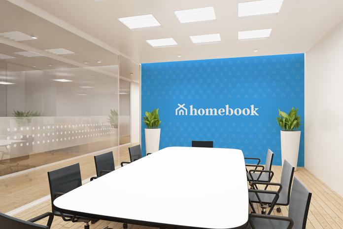 Nowe logo Homebook na wizualizacji