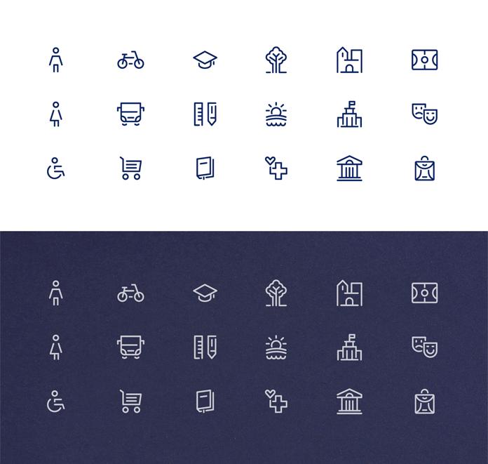 Zestaw ikon