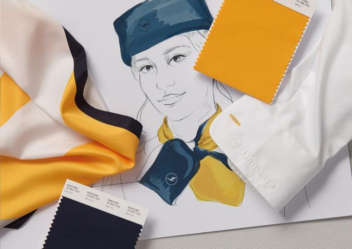 Barwy marki Lufthansa
