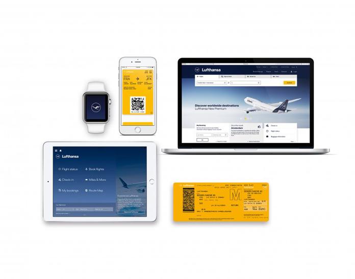 Lufthansa na urządzeniach mobilnych