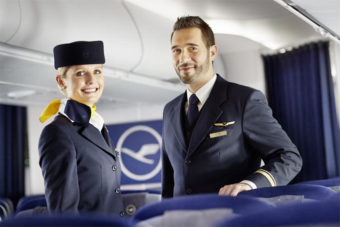 Nowe uniformy Lufthansa