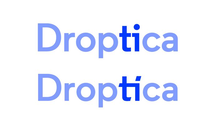 Geneza logotypu Droptica