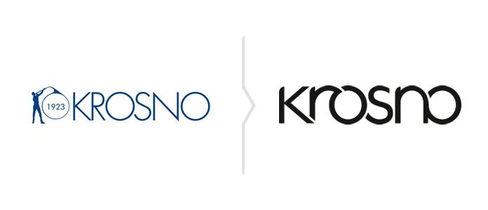 Rebranding marki Krosno nowe logo