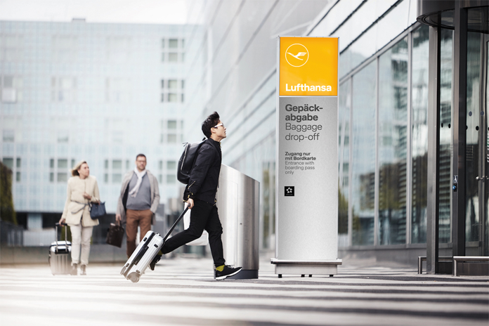 Lufthansa - lifting wayfinding