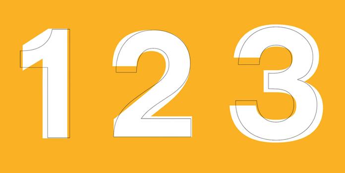 Porównanie typografii Lufthansa