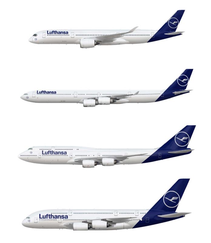 Samoloty Lufthansa 2018