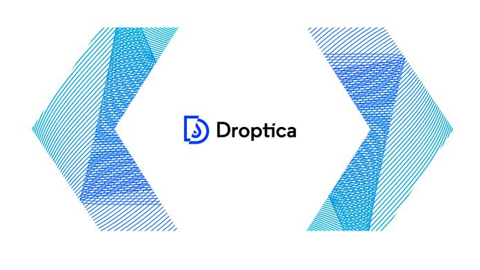 Nowe logo Droptica - rebranding