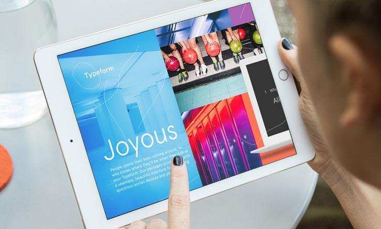 Typeform zmieniona identyfikacja wizualna marki