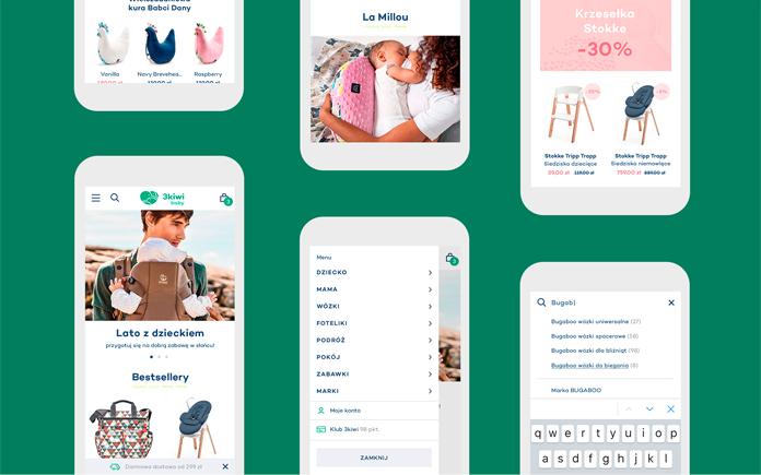 Nowa identyfikacja 3kiwi baby - smartfon