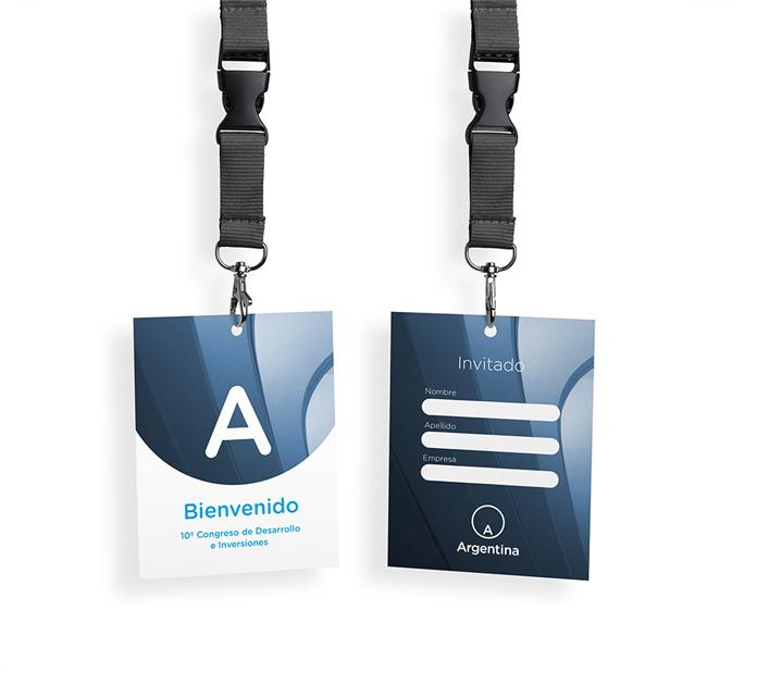 Identyfikator - nowe logo Argentyny